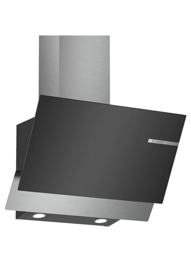 Bosch Bosch DWK65AD60R Siyah Cam Eğimli 60CM Davlumbaz Renkli